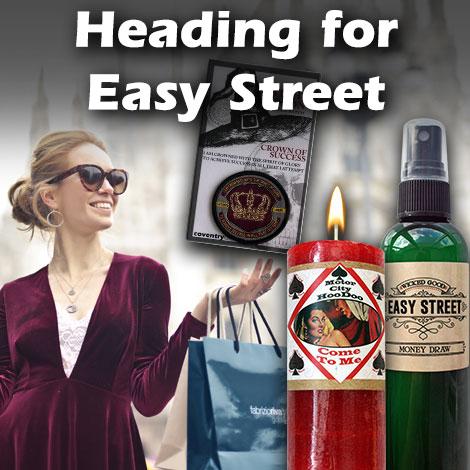 Heading for Easy Street
