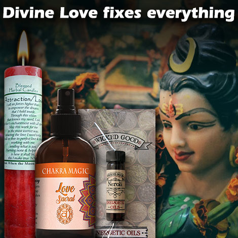 Divine love fixes everything