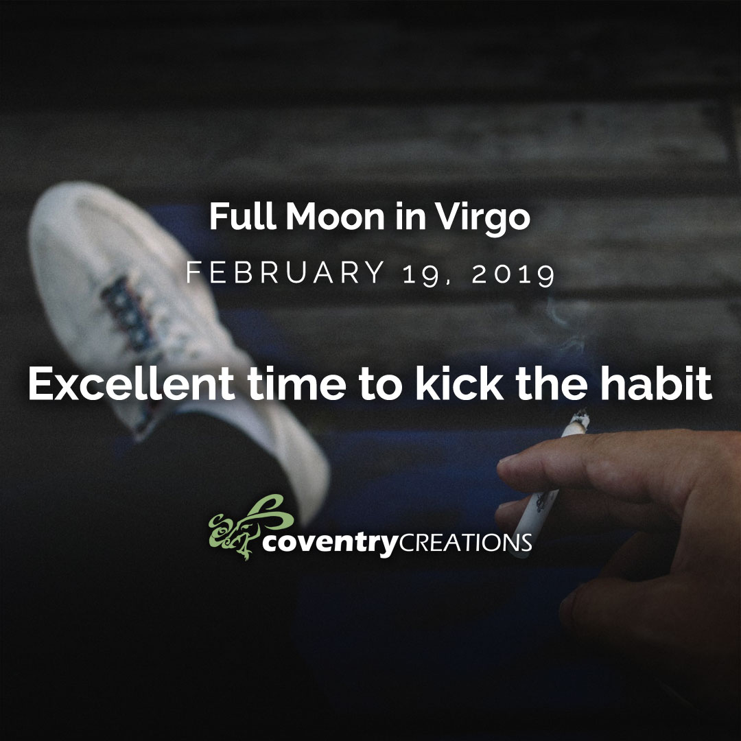 The Full Moon in Virgo on February 19th