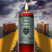 Makin' Tracks Wicked Witch Mojo Candle