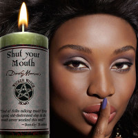 Shut your Mouth Wicked Witch Mojo Candle