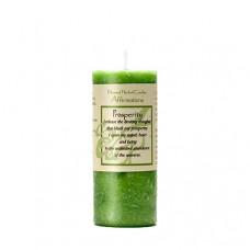 Affirmation Prosperity Candle