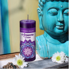 Chakra Magic Answers Candle