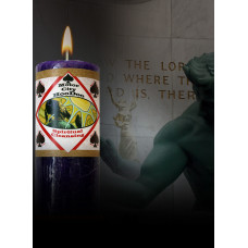 Spiritual Cleansing Motor City Hoo Doo Candle