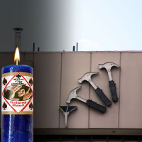 Helping Hand Motor City Hoo Doo Candle