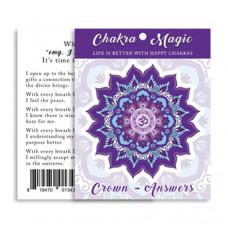 Chakra Magic Answers Sticker