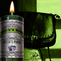 Witch's Purse Witch's Brew Candle