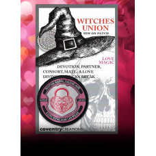 Witches Union Love Magic Patch