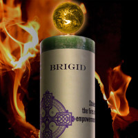 Brigid World Candle