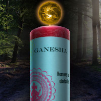 Ganesha World Magic Candle