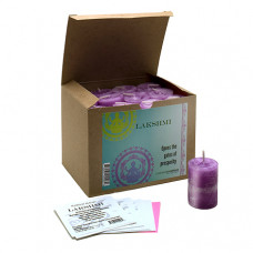 World Magic Lakshmi  Votives (Box of 24)