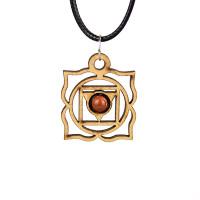 Chakra Magic Root Wood Jewelry and Sticker