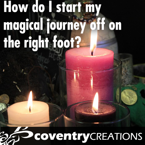 How do I start my magical journey on the right foot?