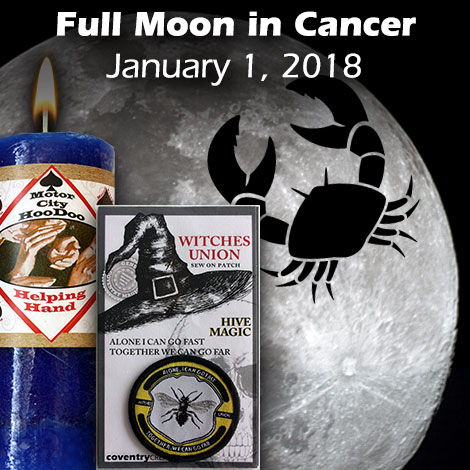 Full Moon in Cancer January 1, 2018