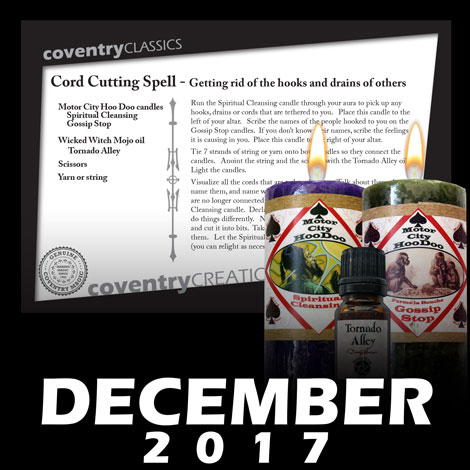 Spell Caster Club - Cord Cutting Spell
