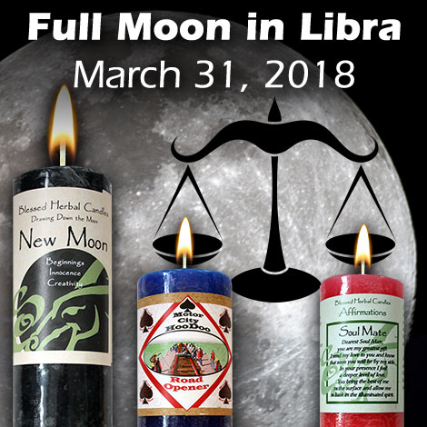 Full Moon in Libra March 31, 2018