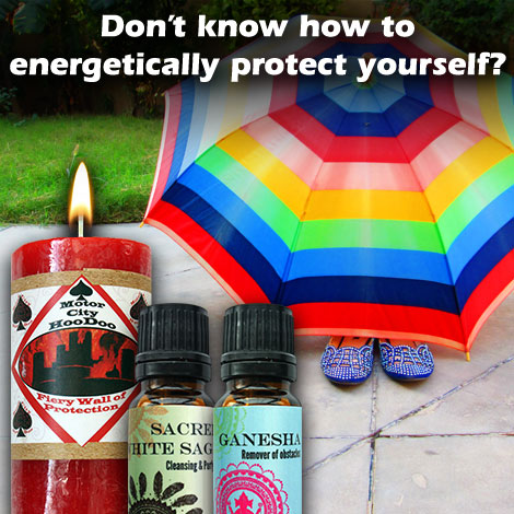 Don't know how to energetically protect yourself?