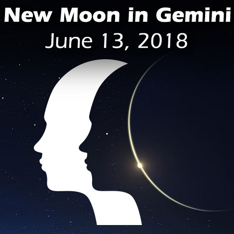 New Moon in Gemini June 13, 2018