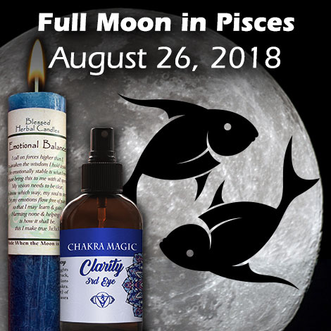 Full Moon in Pisces August 26, 2018