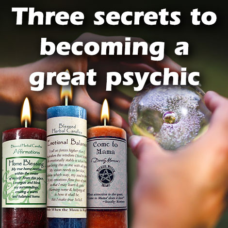 Three secrets to becoming a better psychic