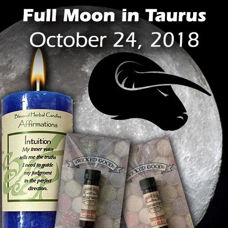 Full Moon in Taurus October 24, 2018