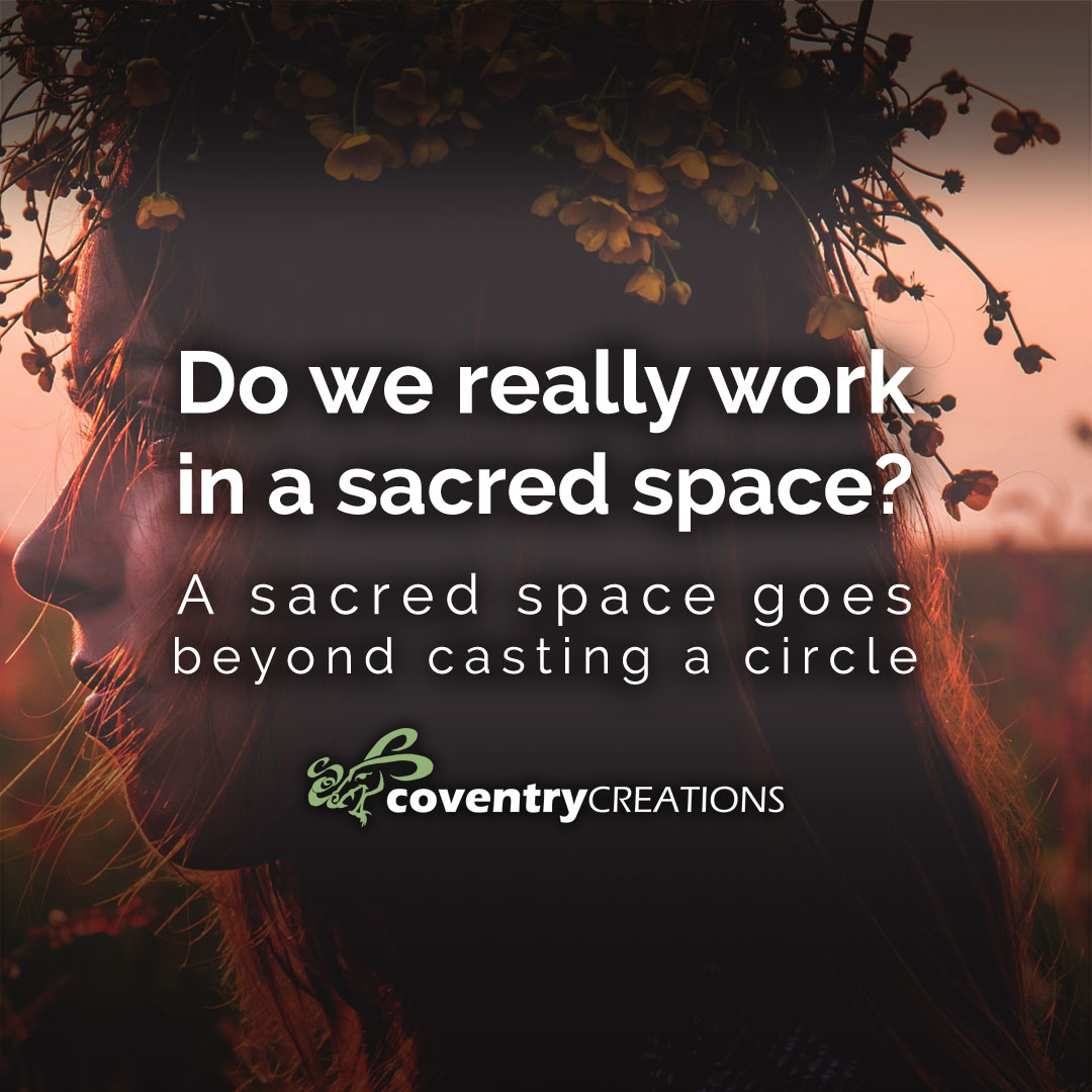 Do We really work in a Sacred Space?