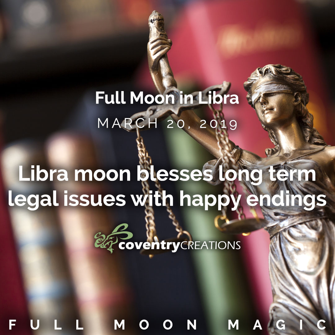 Full Moon in Libra on March 20, 2019