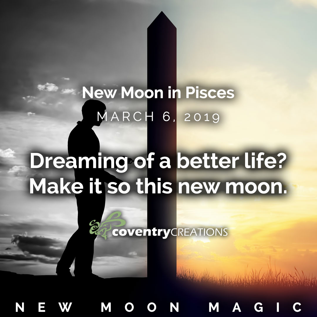 New Moon in Pisces March 6, 2019