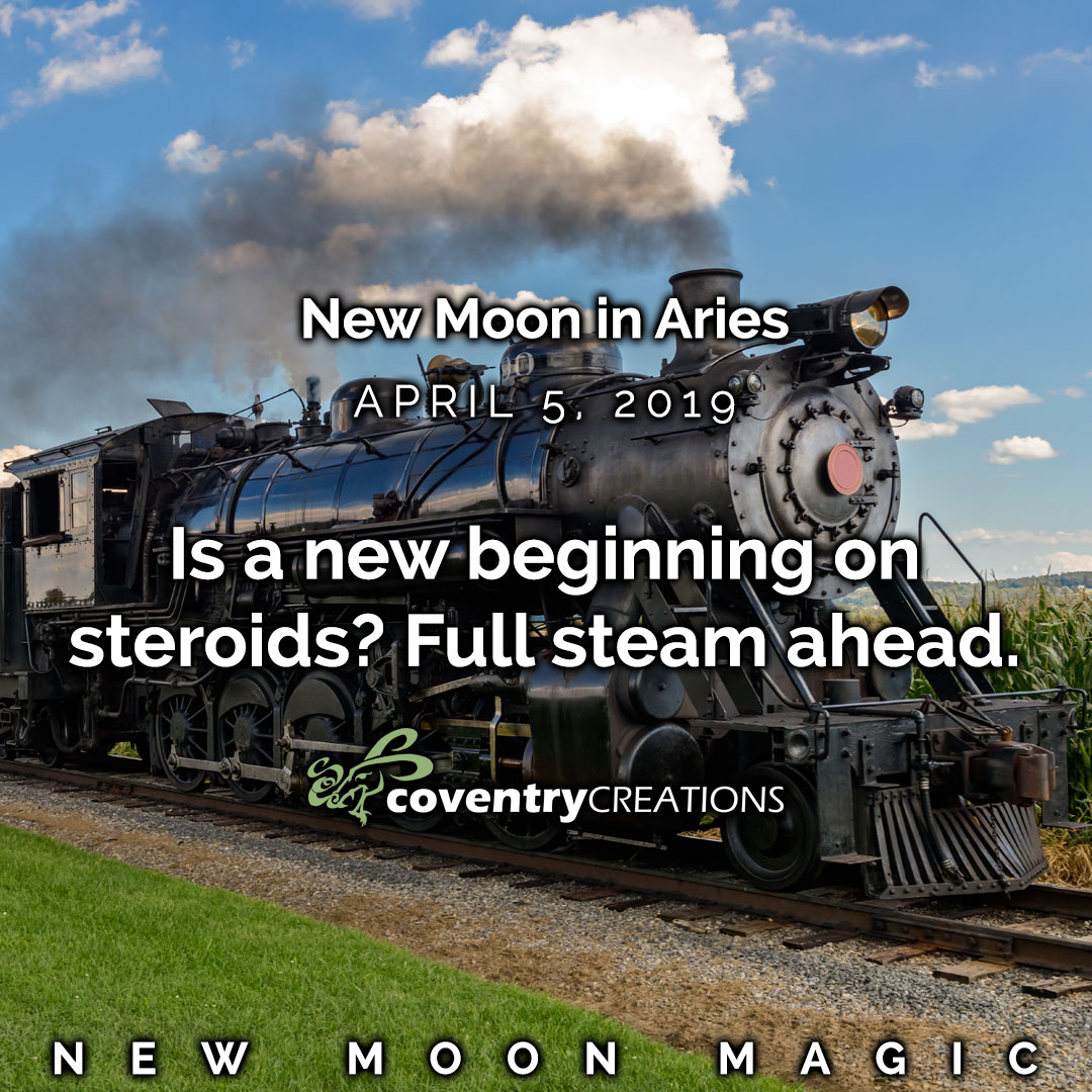 New Moon in Aries April 5, 2019