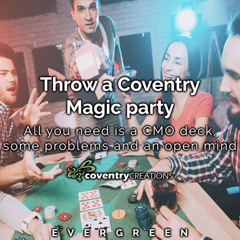How to throw a Coventry Magic party