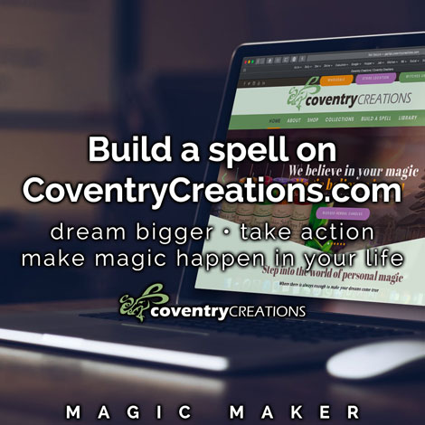 How to Build a spell on coventryCREATIONS.com