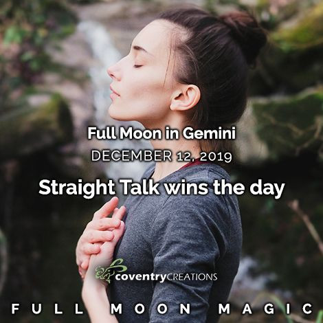 Full Moon in Gemini on December 12, 2019