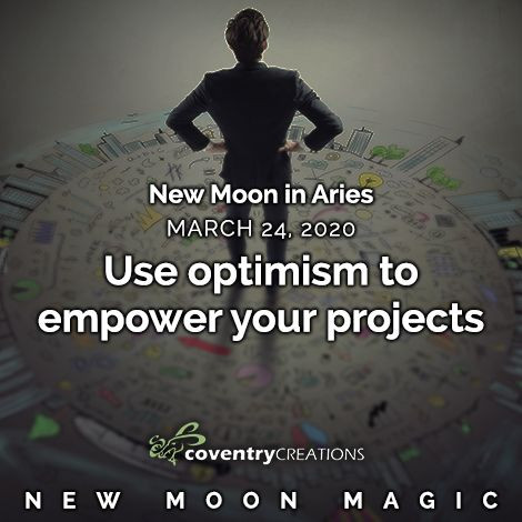 New Moon in Aries March 24, 2020