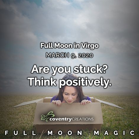 Full Moon in Virgo March 9, 2020