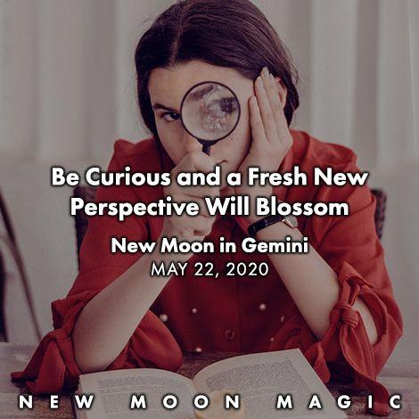 New Moon in Gemini May 22, 2020