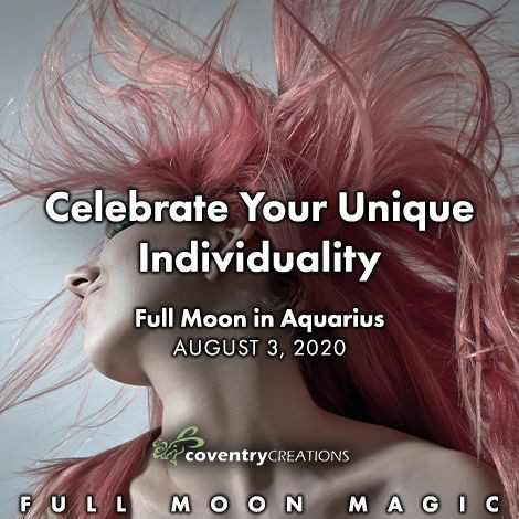 Full Moon in Aquarius August 3, 2020