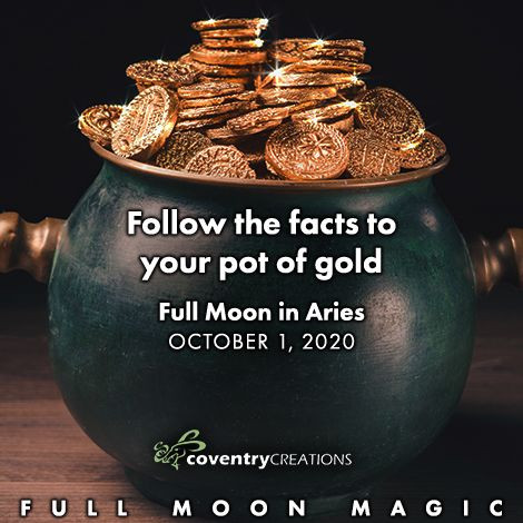 Full Moon in Aries, October 1, 2020