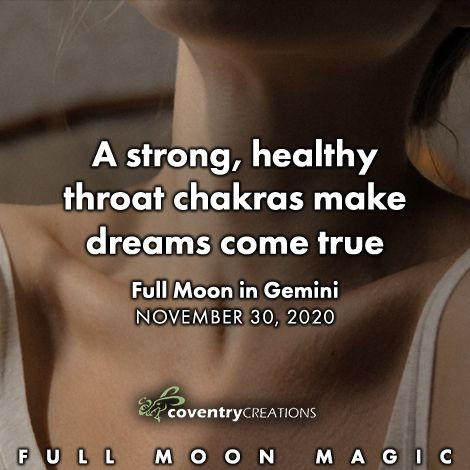 Full Moon in Gemini November 30, 2020