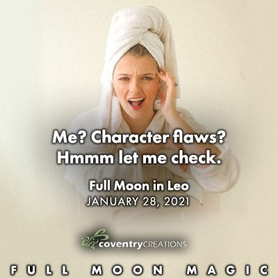 Full Moon in Leo January 28, 2021