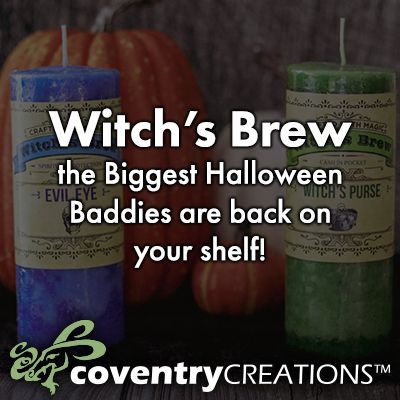 Witch's Brew, the biggest Halloween baddies, are back on your shelf