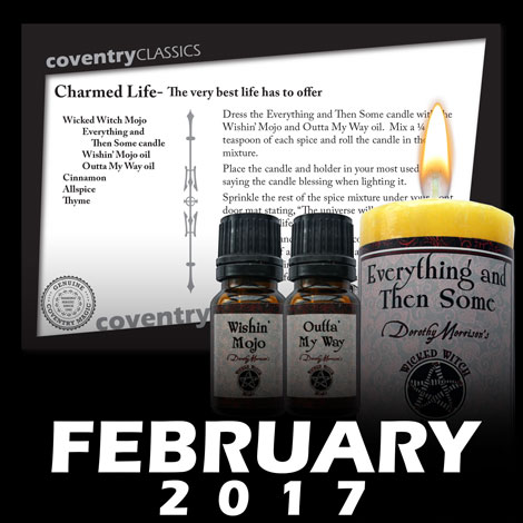 Feb 2017 Spell Caster Card Carmed Life