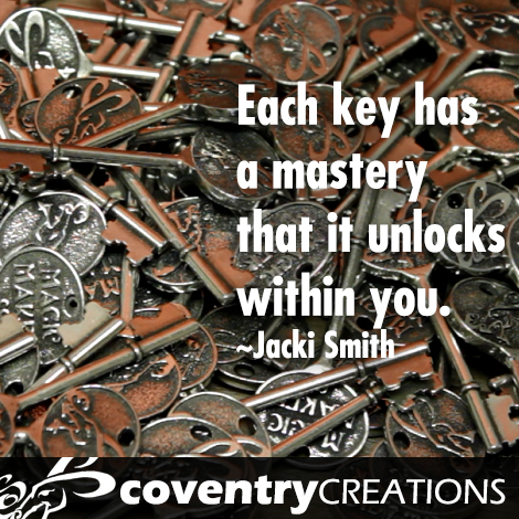 What do you think of when you look at a skeleton key?