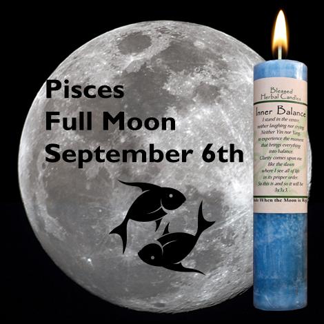 Full moon in Pisces on September 6, 2017