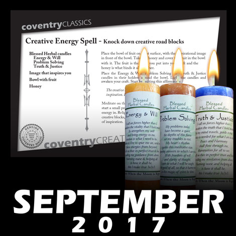 Creative Energy Spell - Knock down creative road blocks